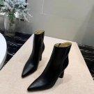 Women Shoes Jacquemus Ankle Boots Black Leather Paris Rare