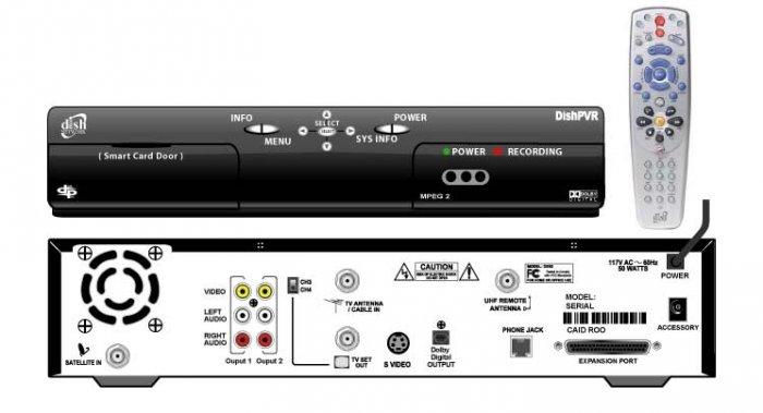 DISH NETWORK 510 DVR PVR RECEIVER W/REMOTE NEW