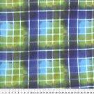 Clear Plaid Blue 36X60