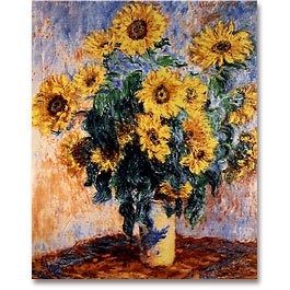 Bouquet Of Sunflowers Panel