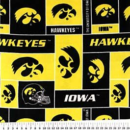 University of Iowa Hawkeyes 72x60