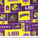 Louisiana State University Tigers 72x60
