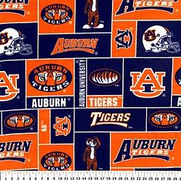 Auburn University Tigers Allover 36x60