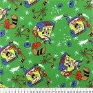 Spongebob Green Hockey 36x60