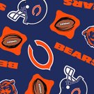NFL Chicago Bears 72x60