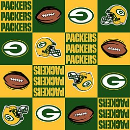 NFL Green Bay Packers Yellow Football 36x60