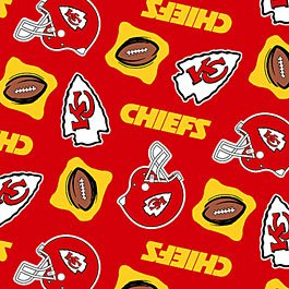 NFL Kansas City Chiefs Football 36x60