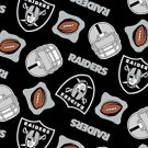 NFL Oakland Raiders Football 72x60
