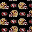 NFL San Francisco 49ers Football 72x60