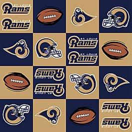 NFL St. Louis Rams Football 36x60