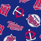 Minnesota Twins Navy Blue 72x60