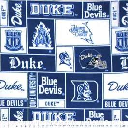 Duke University Blue Devils 72x60