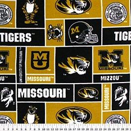 University of Missouri Tigers 76x60