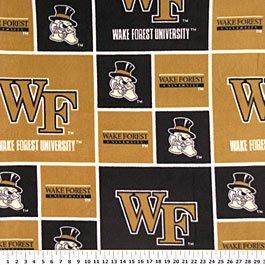 Wake Forest University Demon Deacons 72x60