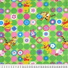 Winnie the Pooh Bright Dots Green 36x60