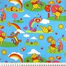 Winnie the Pooh Rainbow Scenic 36x60