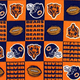 NFL Chicago Bears 72x60