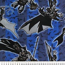 Batman Begins Fly Bats 36x70