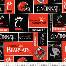 Cincinnati Bear Cats Allover 72x60