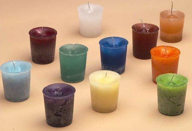 3 votive Candle