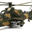 CAIC Z-10 Helicopter model with light, sound and recoil propeller alloy -  color:fix