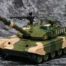 Type 99 Main Battle Tank model with light, sound and recoil propeller alloy - color:green