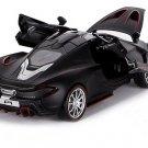 1:32 McLaren P1 car model with light, sound and recoil alloy 3 gates - color:black