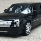 1:32 No.1 Cadillac president car beast model with light sound recoil alloy 6 gates-color:black