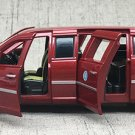 1:32 No.1 Cadillac president car beast model with light sound recoil alloy 6 gates-color:red