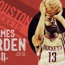NBA basketball star poster painting , 16*24 inches, Self adhesive waterproof - No.E6
