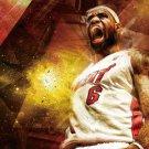 NBA basketball star poster painting , 16*24 inches, Self adhesive waterproof - No.E9