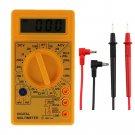Digital LCD Multimeter Amp Volt Ohm Current Tester Voltage Meter Universal electric meter-No.a