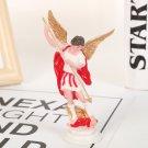 Angel standing handicraft model ornament - color:red