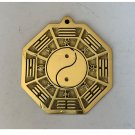 Pure copper household BaGua Fengshui mirror to dispel evil and turn evil