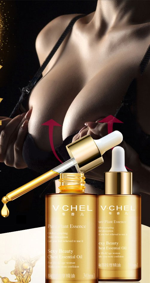 Breast enhancement cream from A to D, Breast massage Essential Oil mildly nourishes tender skin Oil