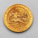 3 pcs 1921 American gold coin general skull silver dollar