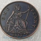 1933 old British copper silver dollar silver dollar,silver coin -No.F