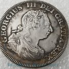 1808 King George III of Scotland Brass silver plated silver dollar/Coin-No.B