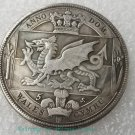 1887 William brass silver plated silver dollar Silver coin-No.A
