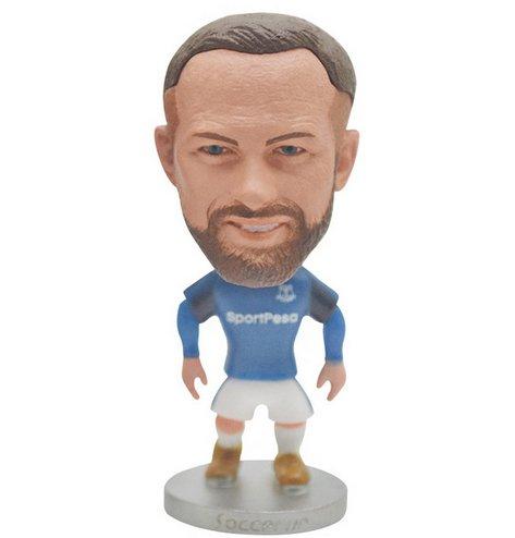 2020 European Cup Everton Football Club Wayne Rooney model toy PVC technology