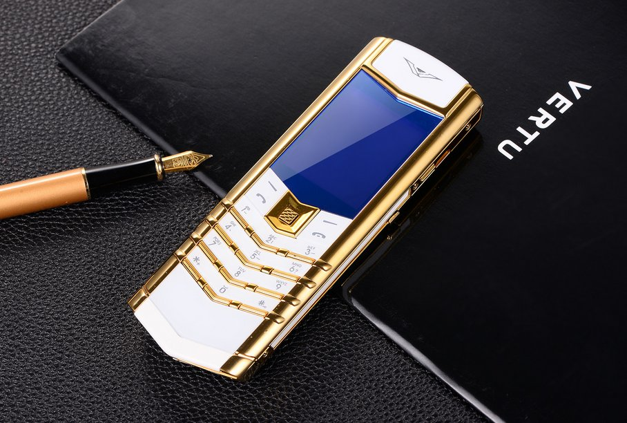 Vertu V10 unlocked, luxury mobile phone cellhpone, valuable for collection,safety use -color:golden