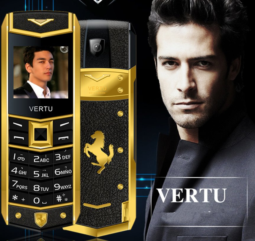 Vertu A8 unlocked, a luxury mobile phone cellhpone, valuable for collection,safety use