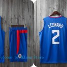 NBA Basketball L.A. Clippers LAC Cosplay Costume Sports Wear Uniform T shirt jersey -color:blue