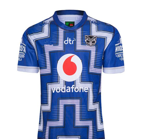 NRL AFL RUGBY jersey New Zealand Warrior  T shirt Cosplay t-shirt -No.2
