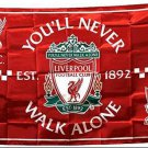 Liverpool FC flag Cape flag, Silk production 35x57 inch