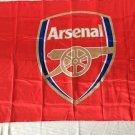 Arsenal Football Club flag Cape flag, Silk production 35x57 inch