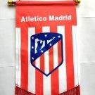 Atletico Madrid FC Cape flag, Pentagonal flag 10x14 inch