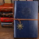 Pirate ship shape notebook classic business creative stationery manual -color:blue