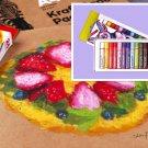 12 color oil painting stick, oil painting color pen, studio crayon, oily color chalk, pastels
