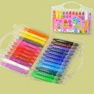 """  24 color oil painting stick, oil painting color pen,chalk,studio crayon,Rotating color pastels"""